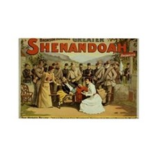 Cute Shenandoah Rectangle Magnet
