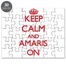 Keep Calm and Amaris ON Puzzle