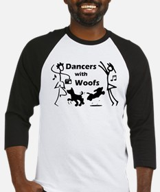 Dancers With Woofs Baseball Jersey