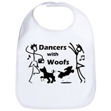 Dancers With Woofs Bib