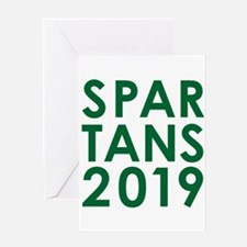 SPARTANS2019 Greeting Cards