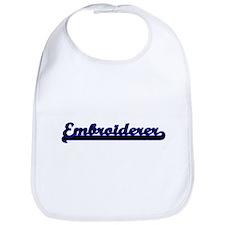 Embroiderer Classic Job Design Bib
