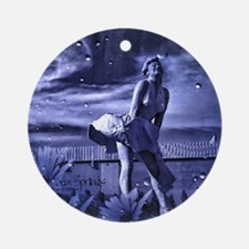 Marilyn Monroe in Palm Springs Ornament (Round)
