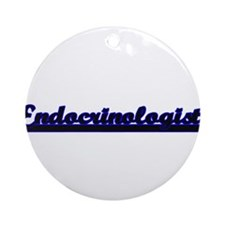 Endocrinologist Classic Job Desig Ornament (Round)