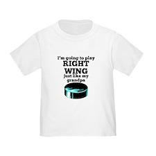 Right Wing Like My Grandpa T-Shirt