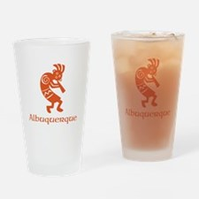 Albuquerque Kokopelli Drinking Glass
