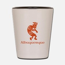 Albuquerque Kokopelli Shot Glass