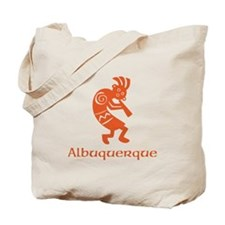 Albuquerque Kokopelli Tote Bag