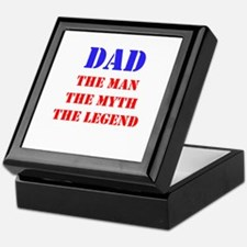 Dad - The Man, The Myth, The Legend Keepsake Box