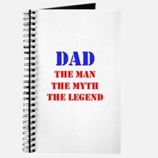 Dad - The Man, The Myth, The Legend Journal