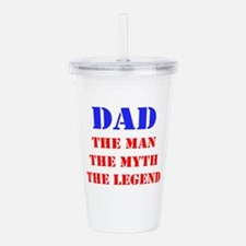 Dad - The Man, The Myth, The Legend Acrylic Double