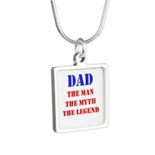 Dad - The Man, The Myth, The Legend Necklaces