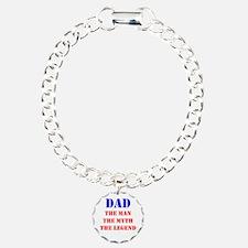 Dad - The Man, The Myth, The Legend Bracelet