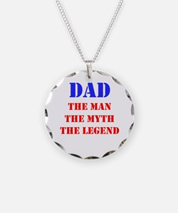 Dad - The Man, The Myth, The Legend Necklace