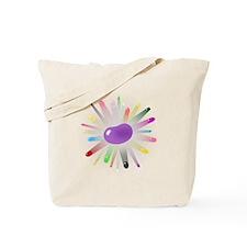 big_purple_jelly_bean_blowout.png Tote Bag