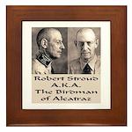 Robert Stroud Framed Tile