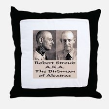 Robert Stroud Throw Pillow