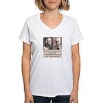 Robert Stroud Women's V-Neck T-Shirt
