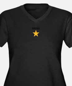 super star Plus Size T-Shirt