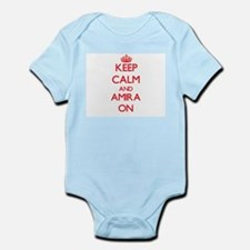 Keep Calm and Amira ON Body Suit