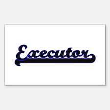 Executor Classic Job Design Decal
