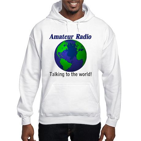 Talking To The World Hooded Sweatshirt