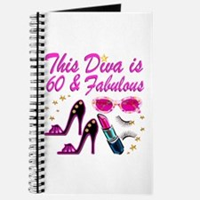 60TH DAZZLING DIVA Journal
