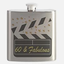 60TH DAZZLING DIVA Flask