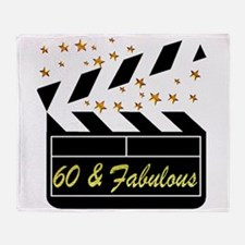 60TH DAZZLING DIVA Throw Blanket