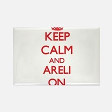 Keep Calm and Areli ON Magnets