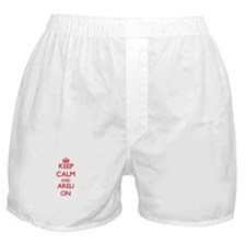Keep Calm and Areli ON Boxer Shorts