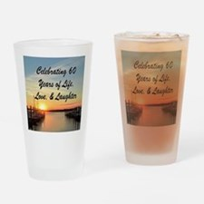 SPIRITUAL 60TH Drinking Glass