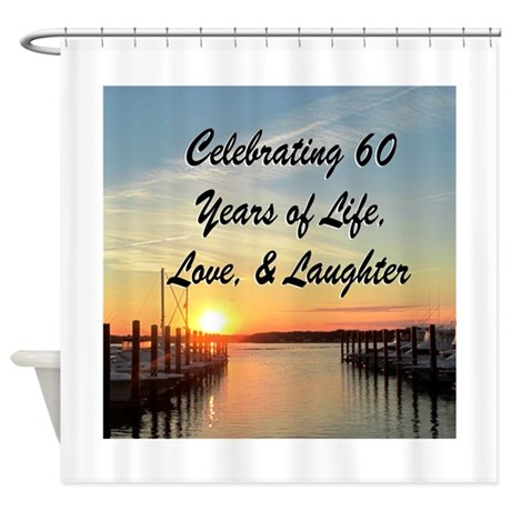 Spiritual 60th shower curtain by jlporiginals for Spiritual shower