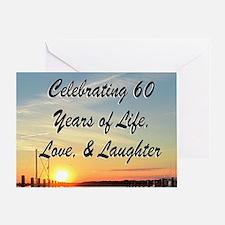 SPIRITUAL 60TH Greeting Card