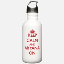 Keep Calm and Aryana O Water Bottle