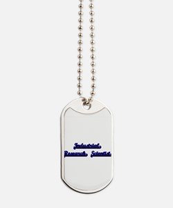 Industrial Research Scientist Classic Job Dog Tags