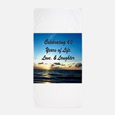 SPIRITUAL 60TH Beach Towel
