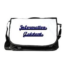 Information Assistant Classic Job De Messenger Bag