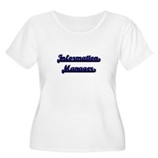 Information Manager Classic Job Plus Size T-Shirt