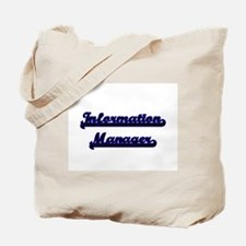 Information Manager Classic Job Design Tote Bag