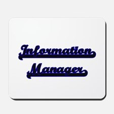 Information Manager Classic Job Design Mousepad