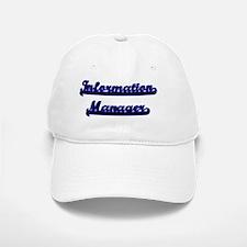 Information Manager Classic Job Design Baseball Baseball Cap