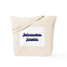 Information Scientist Classic Job Design Tote Bag