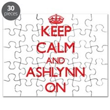 Keep Calm and Ashlynn ON Puzzle