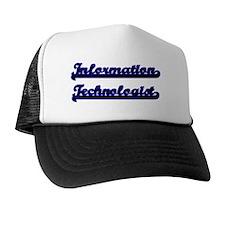 Information Technologist Classic Job D Trucker Hat