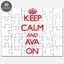 Keep Calm and Ava ON Puzzle
