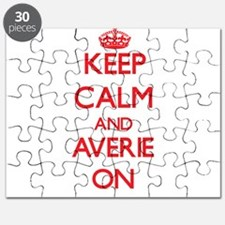 Keep Calm and Averie ON Puzzle