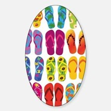Summer Fun Flip Flops  Decal