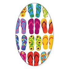 Summer Fun Flip Flops  Stickers