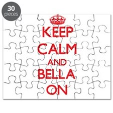 Keep Calm and Bella ON Puzzle